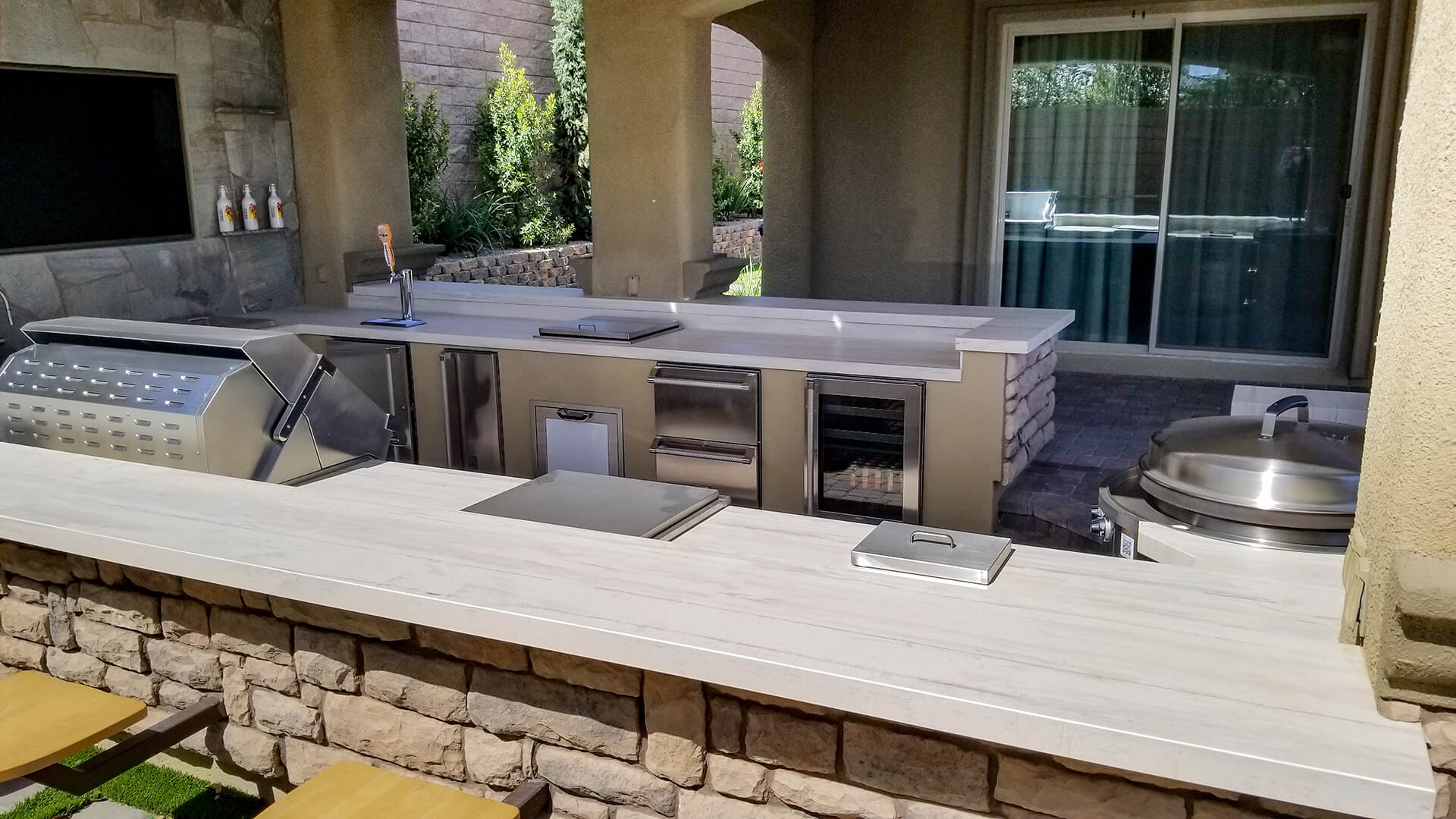 Custom Designed and Constructed by Custom Outdoor Living of Las Vegas, Nevada