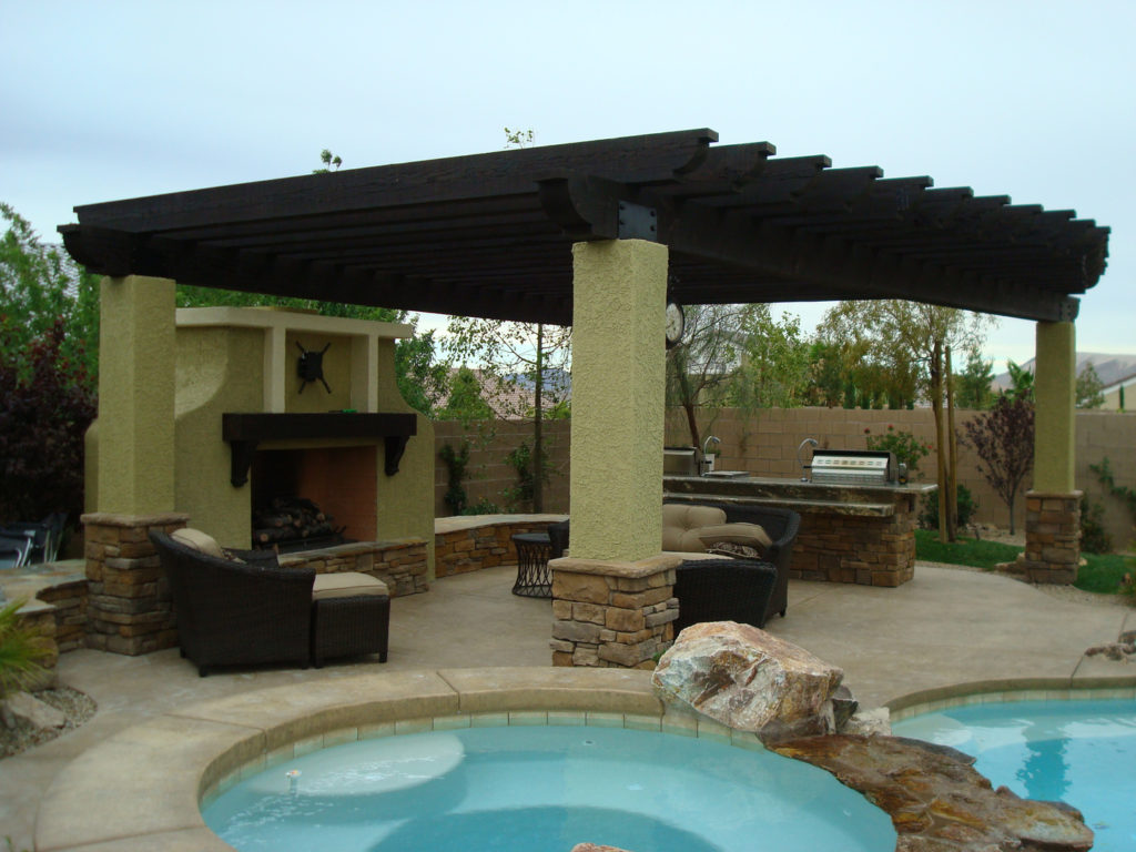 Beautiful Patio Cover Design and Construction by Custom Outdoor Living