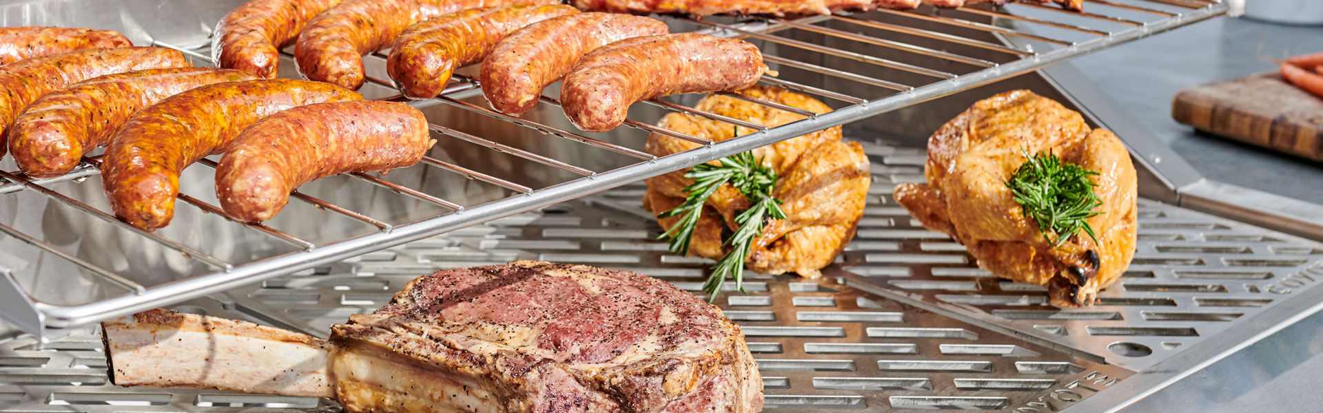 Coyote Outdoor Living Pellet Grill Close-up